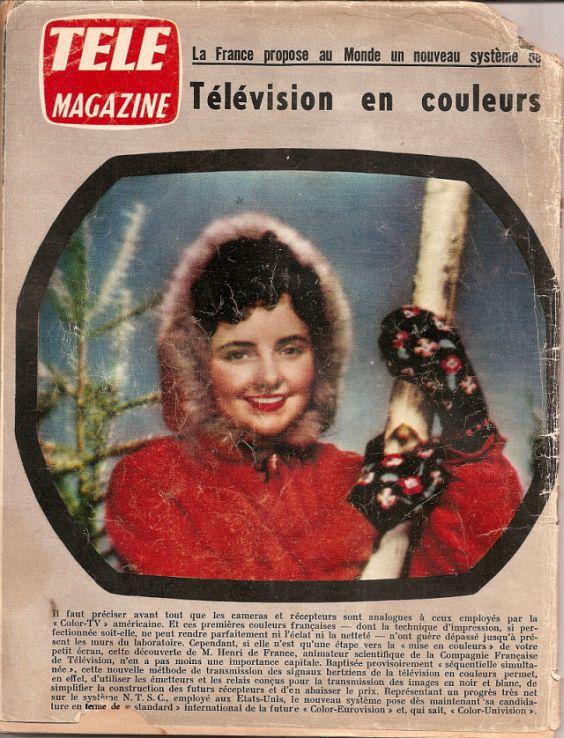premières télévisions en france